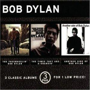 3 Pak (The Free Wheelin' Bob Dylan/ The Times They Are A-Changin'/ Another Side Of Bob Dylan)