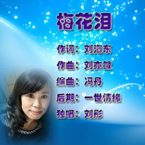 梅花泪由蓝天白云演唱(原唱:刘彤)