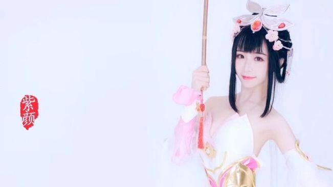 【紫颜】王者荣耀同人舞蹈《青蛇·甄姬》小姐姐舞姿翩翩太美啦!