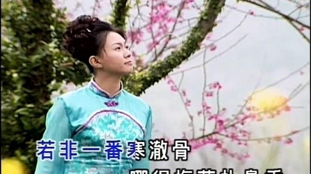 """梅花三弄(热度:12)由"""" """"雨花石翻唱,原唱歌手卓依婷"""