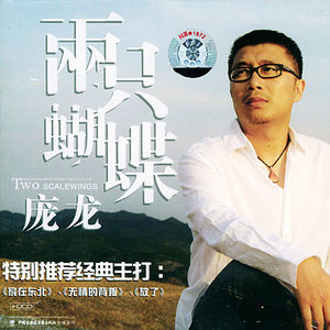 两只蝴蝶(热度:103)由欣新翻唱,原唱歌手庞龙