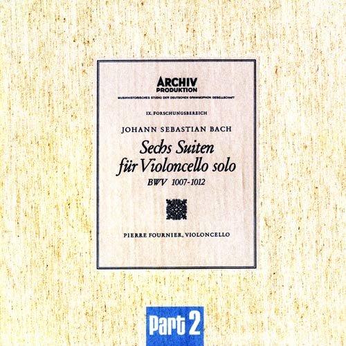 大提琴巴赫无伴奏谱子分享展示